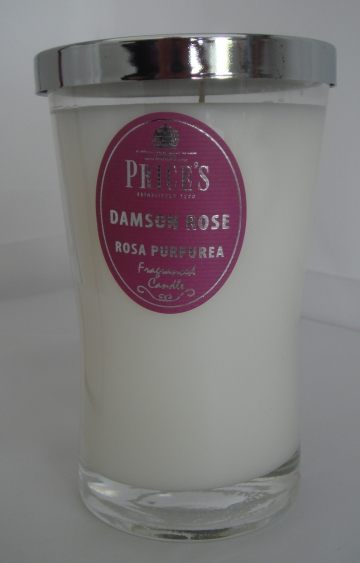 Price`s Candle Damson Rose